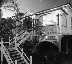 A decorative Queenslander house in Annie Street, Torwood, built around 1890